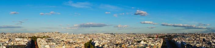 Mont Matre Hügel, Paris, Frankreich lizenzfreies stockbild