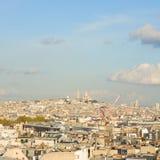 Mont Matre-Hügel, Paris, Frankreich lizenzfreies stockbild