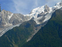 Mont Maudit, Chamonix ( France ) Royalty Free Stock Photo