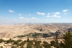 Mount Nebo. View from Mount Nebo in Jordan Royalty Free Stock Photos