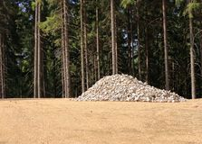 Mont?o das pedras, esperando para ser usado imagem de stock royalty free