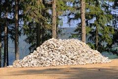 Mont?o das pedras, esperando para ser usado fotografia de stock royalty free