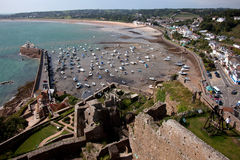 Mont Orgueil Castle Royalty Free Stock Photography