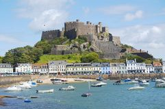 Mont Orgueil Castle Royalty Free Stock Images