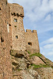 Mont Orgueil Castle in Gorey, Jersey, UK Royalty Free Stock Photos