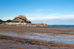 Mont Orgueil Castle in Gorey, Jersey, UK Royalty Free Stock Photo