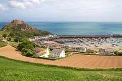Mont Orgueil Castle, Jersey, UK Stock Image