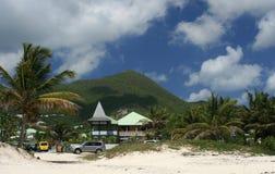 Mont Paradis-Orienta la spiaggia della baia Fotografie Stock Libere da Diritti
