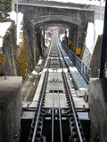 Mont Pelerin Funicular Railway Stock Photo