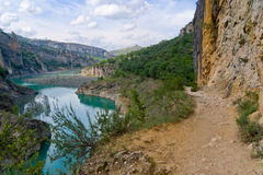 Mont-rebei gorge in Catalonia, Spain Royalty Free Stock Image