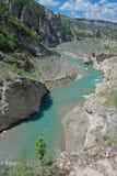 Mont Rebei klyfta Arkivbilder