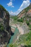 Mont Rebei klyfta Royaltyfria Bilder