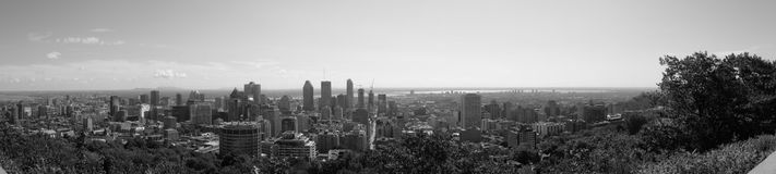Mont-Royal panorama Royalty Free Stock Photos