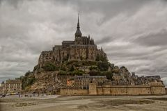 Mont Saint Michel Stockfotos