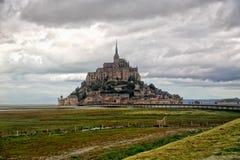 Mont Saint Michel Stock Afbeelding