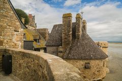 Mont Saint Michel Lizenzfreies Stockfoto