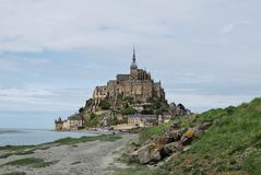 Mont Saint-Michel `, arkivbild