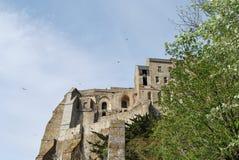 Mont Saint-Michel-` Stockbilder
