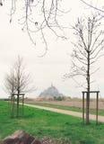 Mont Saint Michel Fotografía de archivo libre de regalías