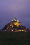 Mont Saint Michel Stockfotos