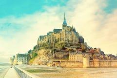 Mont Saint Michel fotos de stock royalty free
