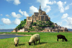 Mont Saint Michel Royalty Free Stock Photography