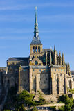 Mont-Saint-Michel. In Normandy, France Royalty Free Stock Photo