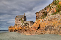 Mont Saint Michel Royalty Free Stock Photo