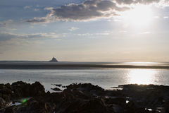 Mont Saint Michel. Normandy, France royalty free stock photo