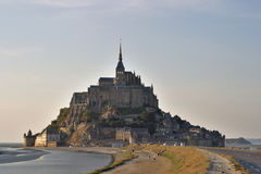 Mont Saint Michel. Normandy, France stock photos