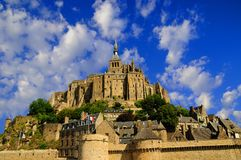 Mont Saint Michel Stockbilder