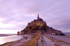 Mont saint michel royaltyfri fotografi