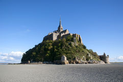 Mont Saint Michel. Monastery, Normandie, France Stock Photography