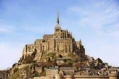 Mont Saint-Michel. The monastery of Mont Saint-Michel, Normandy, France Stock Photography