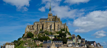Mont Saint Michel Royalty Free Stock Images