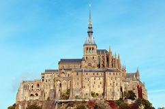 Mont Saint-Michel Royalty Free Stock Images