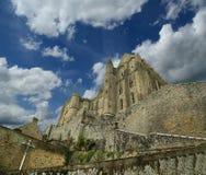 Mont Saint-Michel, Νορμανδία, Γαλλία Στοκ εικόνα με δικαίωμα ελεύθερης χρήσης