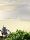 Mont Saint Michel. Bay of Mont Saint Michel Royalty Free Stock Photo