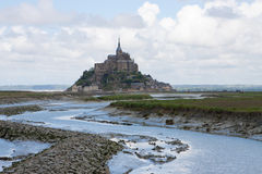 Mont Saint-Michel Fotos de archivo libres de regalías