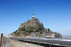 Mont Saint Michel 1 Fotografia de Stock Royalty Free