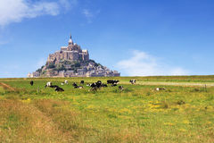 Mont Saint Michel 3 Stockbild