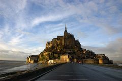Mont Saint Michel stockfotografie