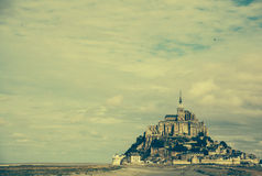 Mont Saint-Michel Stockbild