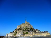 Mont Saint-Michel Fotos de Stock