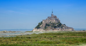 Mont Saint Michel Stock Foto's