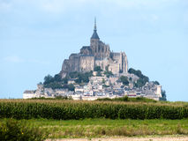 Mont-Saint-Michel Images stock