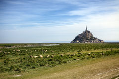 Mont Saint-Michel Photos libres de droits