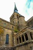 Mont Saint-Michel Imágenes de archivo libres de regalías