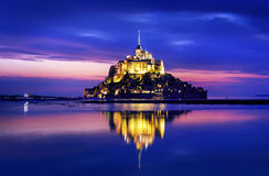 Mont saint-michel Obraz Stock