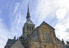 Mont-Saint-Michel Image libre de droits